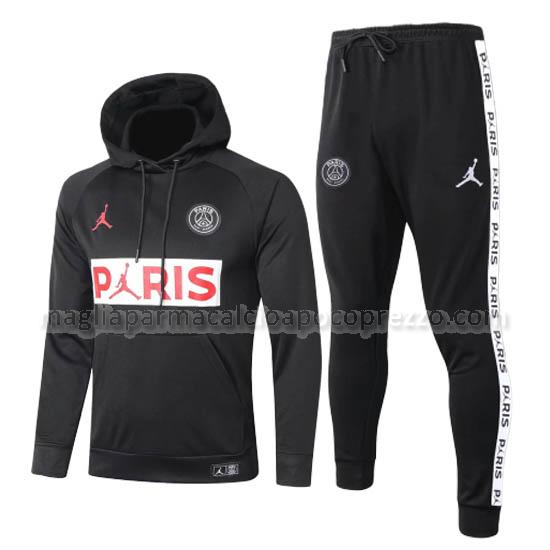 felpa paris saint-germain nero 2020